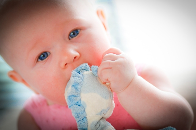 Baby photography at Bob Caddick Photography in Wellingborough